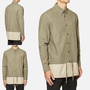 Five Four x 12amRun Long Sleeve Shirt Olive